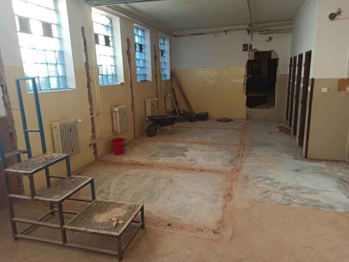 Rekonstrukce šaten a zázemí